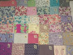 1/2 YARD CUT Floral Paisley Calico Novelty U Choose Free Shi