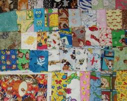 1/2 YARD CUT Animal Curious George McDonald Pirate Quilt Fre