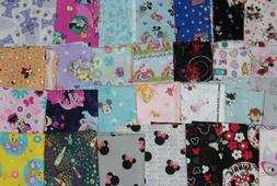 1/2 YARD PRE-CUT Disney Mouse Hello Kitty Trolls Novelty Fre