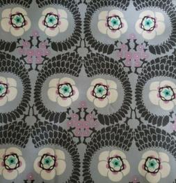 1 YD AMY BUTLER * VIOLETTE FRENCH TWIST GRAY LAVENDER COTTON