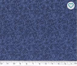 100% Cotton Fabric BTY  Navy Blue Bamboo Generic pattern