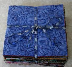 """105 Cotton Fabric Charm Pack 5"""" Squares for Quilting"""