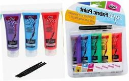 29375 Soft Fabric Paint, 5-Pack