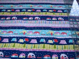 3 Yards Quilt Cotton Fabric - Timeless Treasures Camping Cam