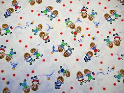 30s Reproduction Fabric By The Yard Raggedy Ann & Andy on Wh