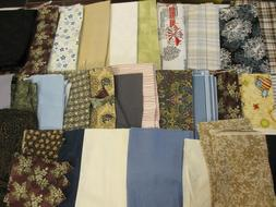 4.75 POUNDS COTTON QUILT FABRIC PIECES REMNANTS SEWING CRAFT