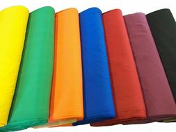 """44/45"""" Broadcloth Fabric By The Yard - Poly Cotton Blend"""