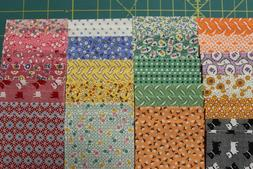 "AUNT GRACE 1930's REPRODUCTION JELLY ROLL 2.5"" x 44"" STRIPS"