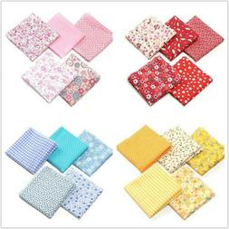5Pcs DIY 50*50cm Mixed Pattern Cotton Fabric Sewing Quilting