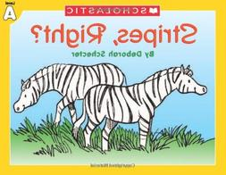 Little Leveled Readers: Level A - Stripes, Right?: Just the