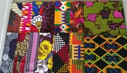 African Fabric Scraps/Strips/ Cotton *Beautiful*, Quilting 1