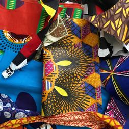 African Fabric Scraps/ Strips/ Remnants *Beautiful*, Per Hal