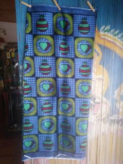 """African Print Fabric 100% Cotton 45''W x 72"""" L wide- one pie"""