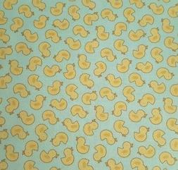 Baby Talk BTY Benartex Just Duckies Ducky Duck Pastel Blue