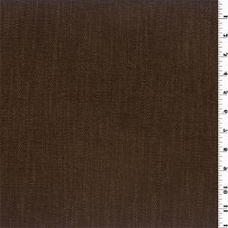 Brown Chenille Home Decorating Fabric, Fabric By The Yard