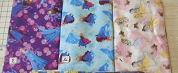 BTY FUN NOVELTY Disney Princesses FROZEN 100% Cotton Fabric