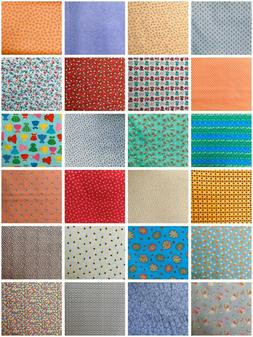 Cotton Quilting Fabric By The Half Yard 100% Cotton *You Cho