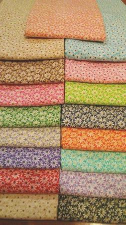 Crazy daisy 100% cotton fabric By The Yard U pick color #102