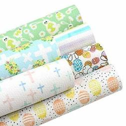David accessories Easter Printed Faux Leather Sheets Litchi