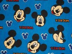 Disney Mickey Expressions Quilting Fabric, 100% Cotton, Fat