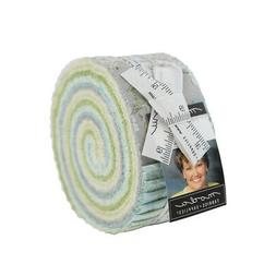 "DOVER Jelly Roll Quilt Fabric for Moda  2.5"" Strips by Brend"