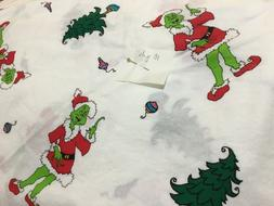 Dr. Seuss Grinch Cotton Quilting Fabric OOP BTHY