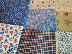 F1072, Judie Rothermel, 1800's reproduction fabric, choice o
