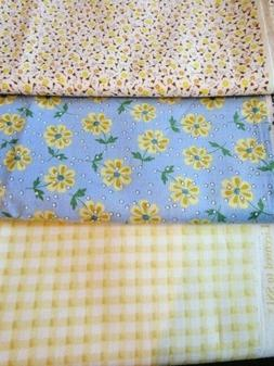 F895, 1930's reproduction fabric, 1/2 yds each, 3 pieces, yo