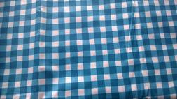 FABRIC Material Sewing Blue White Cotton Craft Hobby Quiltin