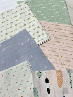 FABRIC SQUARES for Face Mask Quilt Craft: Various Patterns
