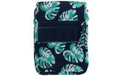 Darice Fashion Bags Fabric Hipster Palm Blue