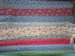 FEEDSACK REPRODUCTION repro PRINTS BTY Cotton Fabric U-PICK