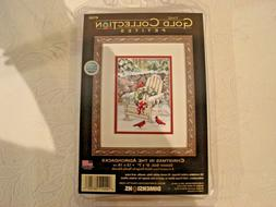 Dimensions Gold Collection Petites Cross Stitch Christmas in