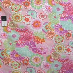 Kaffe Fassett GP89 Asian Circles Pink Cotton Fabric By The Y