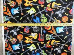 Guitars guitar fun music multi on black c4824 tt durable cot
