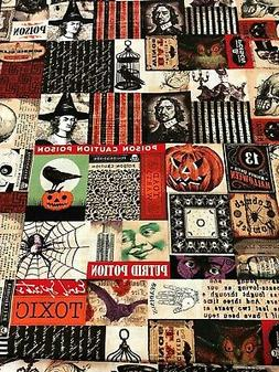 HALLOWEEN Vintage Images Gothic Pictures Apothecary Labels O
