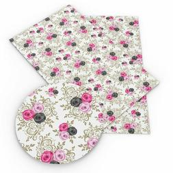 Handmade Garments Fabric Sheets Material Artificial Leather