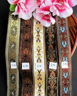 Handmade  Woven jacquard ribbons  = selling by the yard /sel