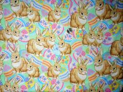 happy spring bunnies springs creative products fabric quilti