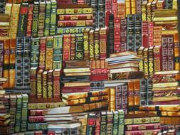 Hard Backed Books Stacked-All Over Design-Library-BTY-Timele