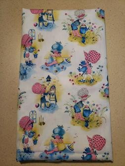 Holly Hobbie Fabric Gardening Beach Cooking 45 Inches Wide 3