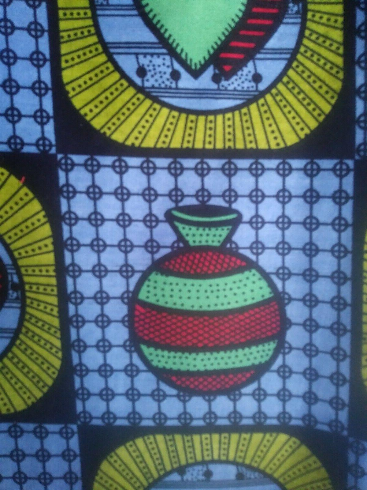 """African Fabric Cotton x 72"""" L wide-"""