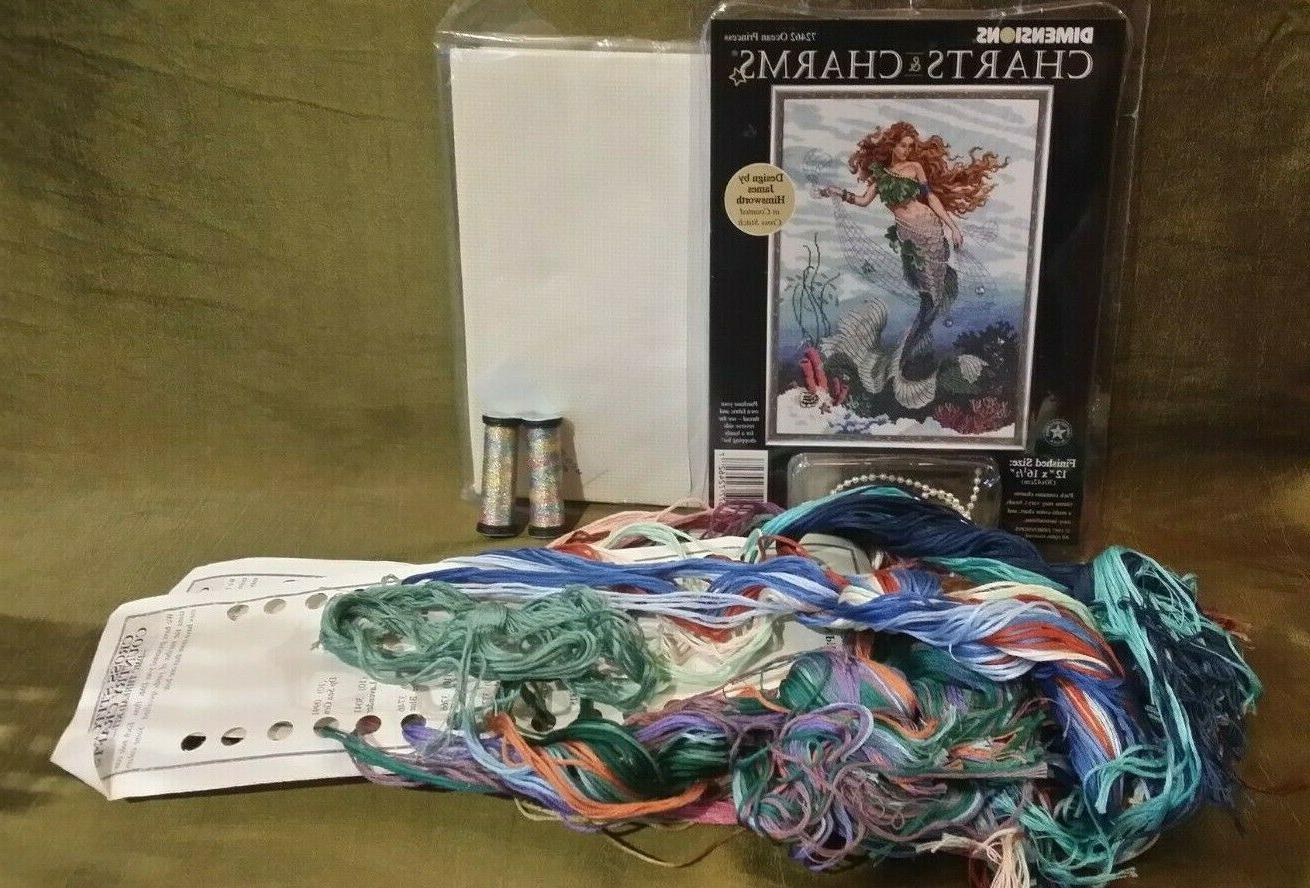 charts and charms ocean princess cross stitch