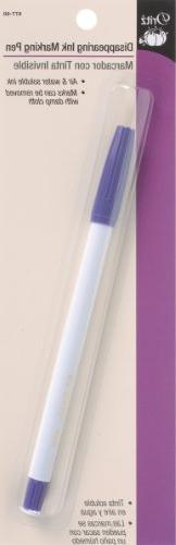 Disappearing Ink Marking Pen by Dritz Purple