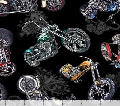 easy rider motorcycle fabric 100 percent quilters