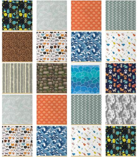 Ambesonne Fabric by the Yard Upholstery Home