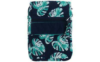 fashion bags fabric hipster palm blue