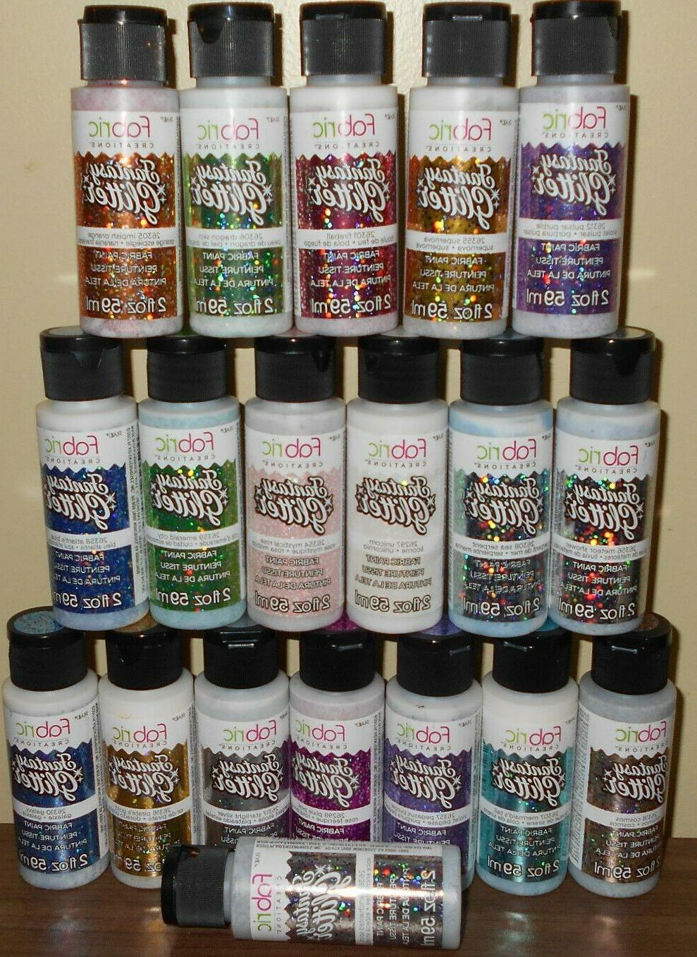 lot of New 2oz of Fabric Paints