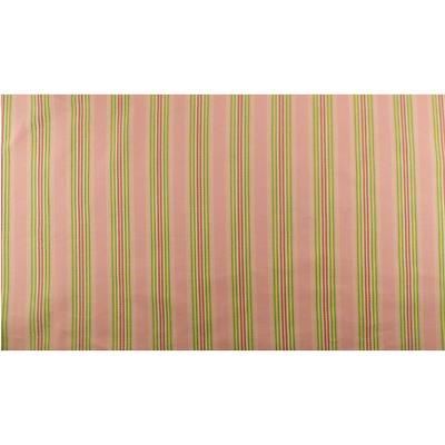 Pink/Multi Ottoman Stripe Decorating Fabric By The
