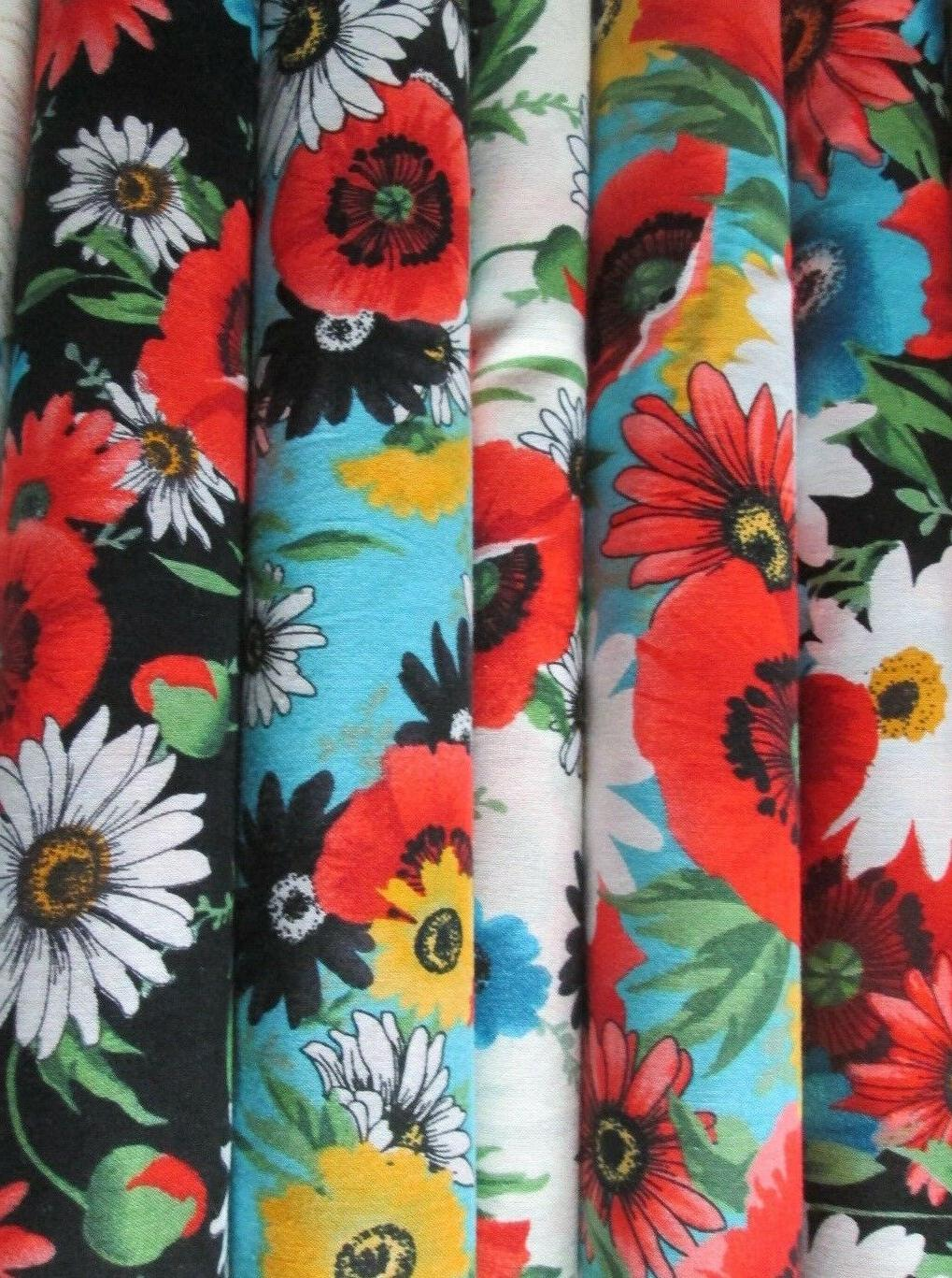 Poppy Collection 100% Different 1/2 yd